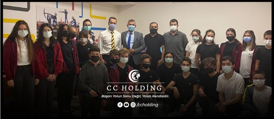 CC HOLDİNG'DEN EĞİTİME TEKNOLOJİK DESTEK PROJESİ