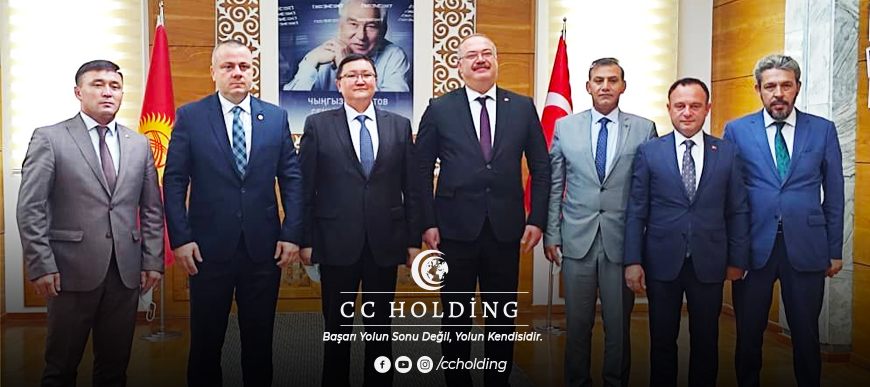 CC Holding'den Kırgızistan'da Yatırım İş Birliği